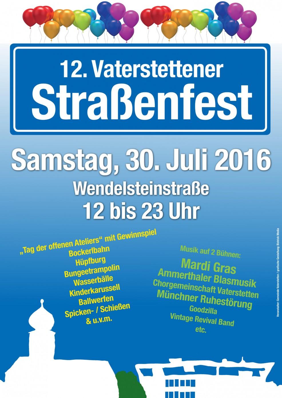 StrassenfestVaterstetten2016